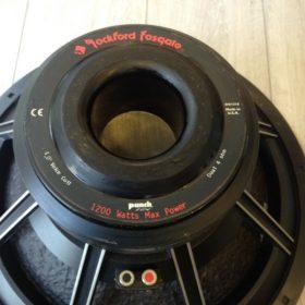 Rockford Fosgate Punch RFD-1218 DVC HX2 Dual 4 ohm sub woofer